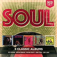 Various<br>Soul: 5 Classic Albums<br>5CD